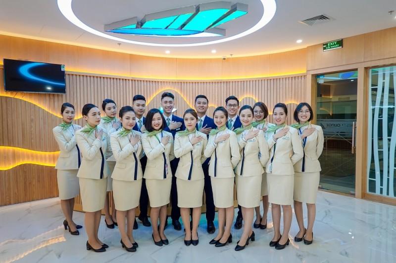 bamboo airways khai truong phong cho hang thuong gia dau tien