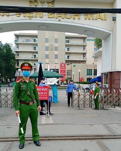 Hà Nội đáp ứng các yêu cầu của Bệnh viện Bạch Mai và cách ly y bác sĩ tại khách sạn để đảm bảo sức khoẻ
