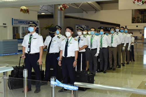 Cận cảnh chuyến bay một chiều của Bamboo Airways đưa công dân châu Âu về nước theo đề nghị của EU
