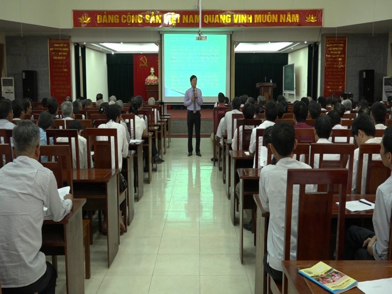 Tập huấn kỹ năng về hoà giải ở cơ sở