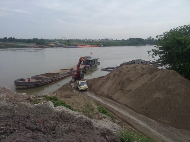 Tăng cường quản lý cát sỏi