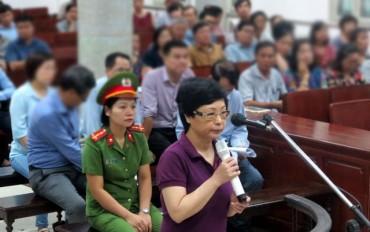 Cựu Đại biểu Quốc hội Châu Thị Thu Nga tiếp tục hầu toà
