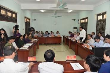 Chủ nhiệm Văn phòng Chính phủ tiếp công dân