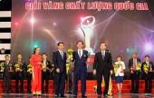Tặng Giải thưởng Chất lượng Quốc gia cho 73 doanh nghiệp
