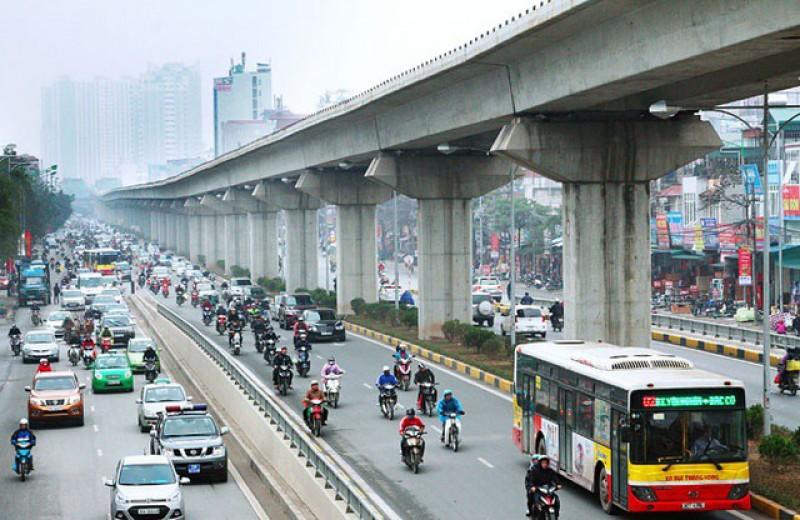 Đầu tư phát triển hệ thống đường sắt đô thị Hà Nội