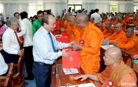 Thủ tướng Nguyễn Xuân Phúc: Toàn thể đồng bào Khmer hãy tiếp tục phát huy truyền thống đại đoàn kết dân tộc