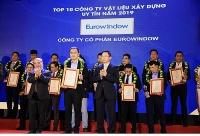 Eurowindow lọt top 10 doanh nghiệp vật liệu xây dựng Việt Nam uy tín 2019