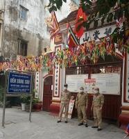 Rằm tháng Ba, nhiều chùa đóng cửa phòng chống dịch Covdid-19 theo Chỉ thị của Thủ tướng