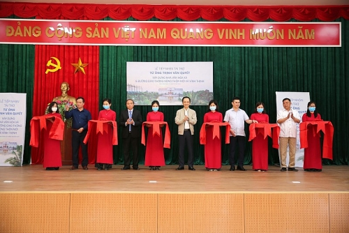 Ông Trịnh Văn Quyết tài trợ xây hội trường – nhà văn hóa trên quê hương
