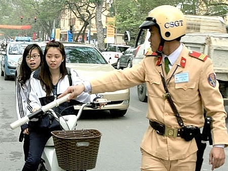 Xử lý vi phạm về luật giao thông đối với người chưa thành niên