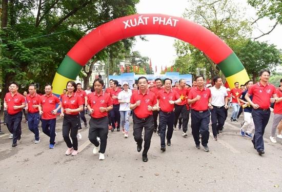 Hà Nội: Sôi động Ngày chạy Olympic vì sức khỏe toàn dân