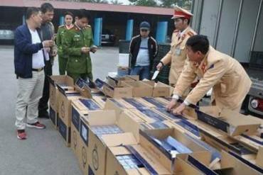 Đấu giá thuốc lá ngoại nhập lậu bị tịch thu để xuất khẩu