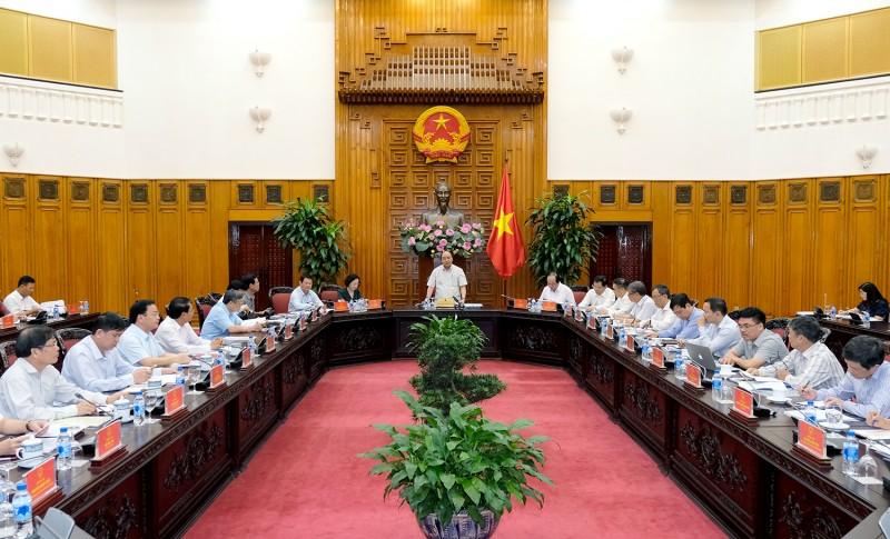 Thủ tướng làm việc với 6 tỉnh phía Bắc