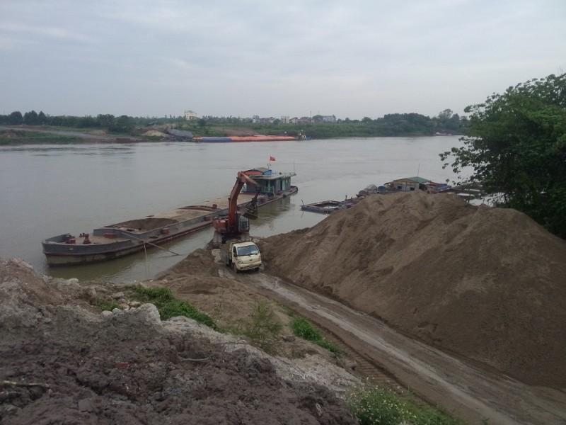 Tăng cường quản lý tài nguyên cát