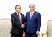 Thủ tướng tiếp các vị khách quốc tế