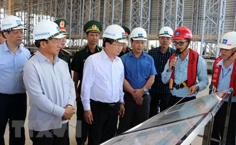 Phó Thủ tướng Trịnh Đình Dũng làm việc tại Formosa Hà Tĩnh