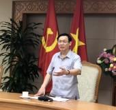 Phó Thủ tướng Vương Đình Huệ làm việc với 3 Bộ về tình hình giải ngân vốn đầu tư công