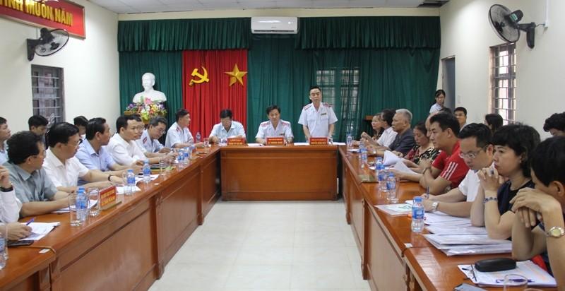 Tổng Thanh tra Chính phủ tiếp công dân về các vụ việc ở Hà Nội