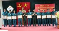 Hội thi báo cáo viên giỏi lực lượng vũ trang huyện Phú Xuyên