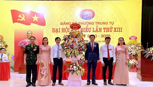 Đại hội Đại biểu Đảng bộ phường Trung Tự thành công tốt đẹp