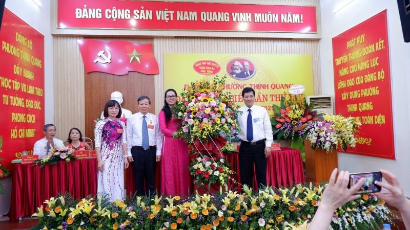 Nhiệm kỳ nhiều thành tích đáng ghi nhận của  Đảng bộ phường Thịnh Quang