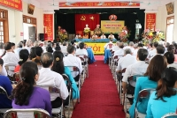 Huyện Phú Xuyên: Đại hội Đảng bộ xã Quang Trung nhiệm kỳ 2020-2025