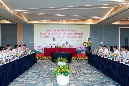 Thủ tướng Chính phủ: Quảng Ninh là tỉnh năng động, dám nghĩ, dám làm