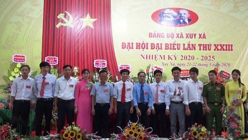 Đại hội Đảng bộ xã Xuy Xá, huyện Mỹ Đức thành công tốt đẹp