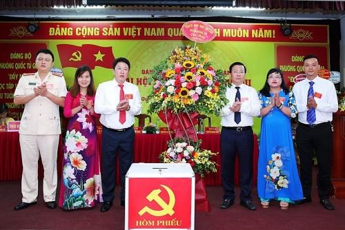 Phường Quốc Tử Giám tổ chức thành công Đại hội đại biểu Đảng bộ