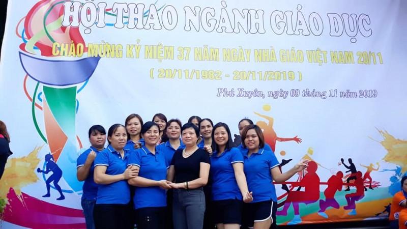 Công đoàn trường Mầm non Phượng Dực, huyện Phú Xuyên: Chăm lo cho đời sống cán bộ giáo viên