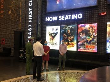 Quận Đống Đa: Đóng cửa các rạp chiếu phim để phòng, chống dịch