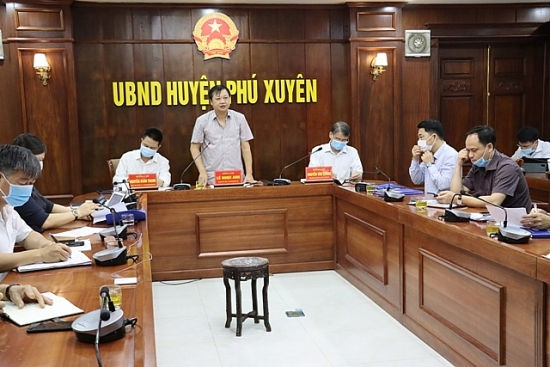 Huyện Phú Xuyên: Chủ động trong công tác phòng, chống dịch Covid-19
