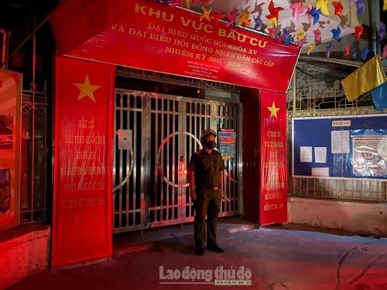 Đảm bảo tuyệt đối an toàn về phòng cháy chữa cháy cho ngày bầu cử