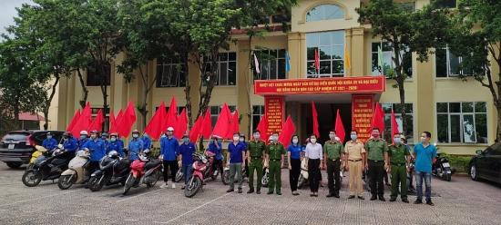 Huyện Phú Xuyên kêu gọi ủng hộ phòng, chống dịch Covid-19