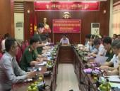 Kiểm tra công tác giáo dục quốc phòng an ninh huyện Phú Xuyên.