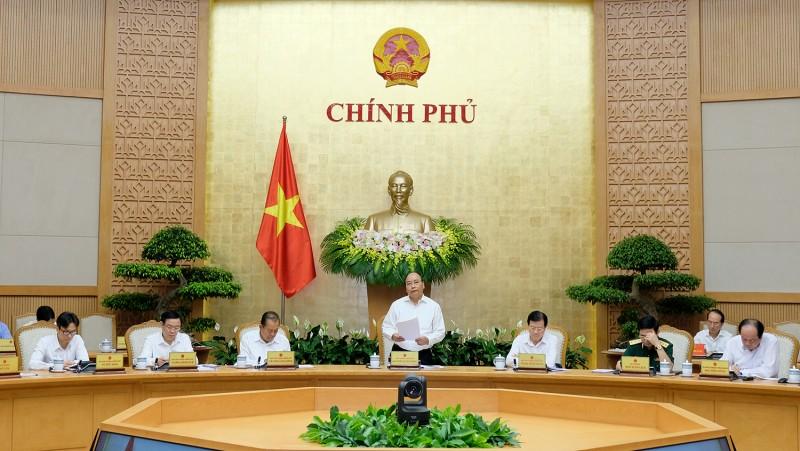 thu tuong chu tri phien hop chinh phu thuong ky thang 5