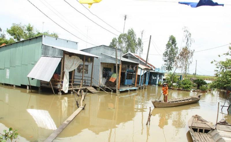 Điều chỉnh chính sách xây dựng cụm dân cư vùng ngập lũ ĐBSCL