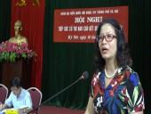 Đoàn đại biểu Quốc hội Hà Nội tiếp xúc cử tri huyện Mỹ Đức