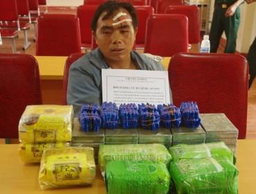 Thầy giáo bị bắt vì vận chuyển heroin