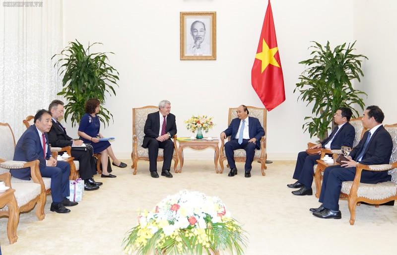 Thủ tướng Nguyễn Xuân Phúc tiếp Phó Thủ tướng Hạ viện Czech