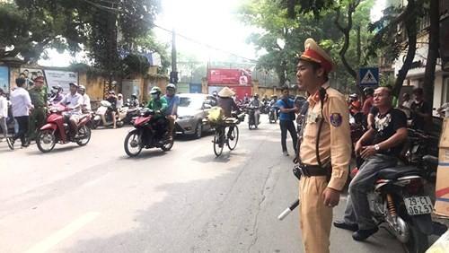 Công an Hà Nội đảm bảo tuyệt đối trật tự an toàn giao thông