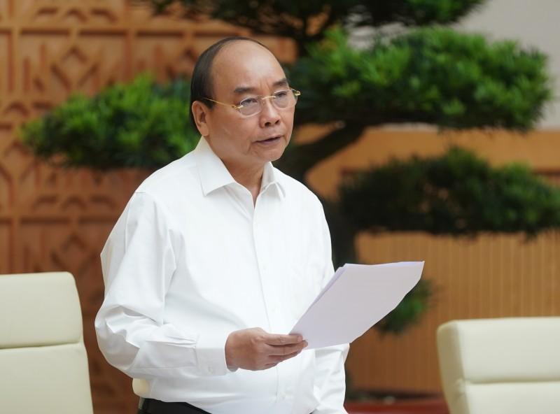 Thủ tướng Nguyễn Xuân Phúc: Quyết tâm đưa nền kinh tế vượt lên