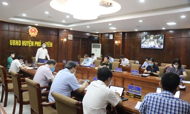 Huyện Phú Xuyên: Đảm bảo  an toàn về phòng, chống dịch tại các địa điểm thi Trung học phổ thông