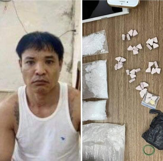Bắt đối tượng tàng trữ trái phép ma túy