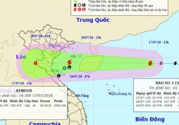 Phó Thủ tướng Trịnh Đình Dũng chỉ đạo ứng phó bão số 3