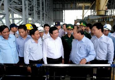 Thủ tướng làm việc với Formosa Hà Tĩnh
