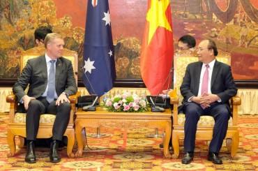 Thủ tướng tiếp Chủ tịch Hạ viện Australia