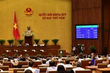 Quốc hội phê chuẩn quyết toán ngân sách nhà nước năm 2016