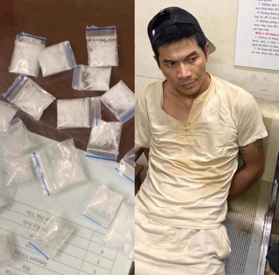 Bắt đối tượng tàng trữ hàng chục gói ma túy