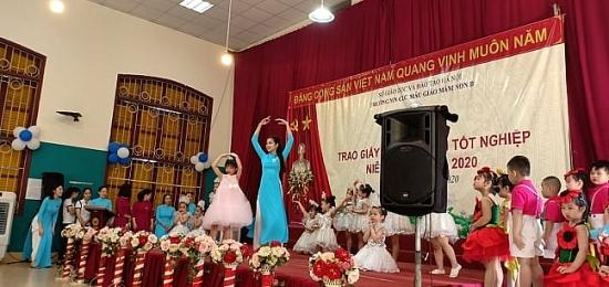 Trường Mẫu giáo Mầm non B Hà Nội: Tạm biệt 124